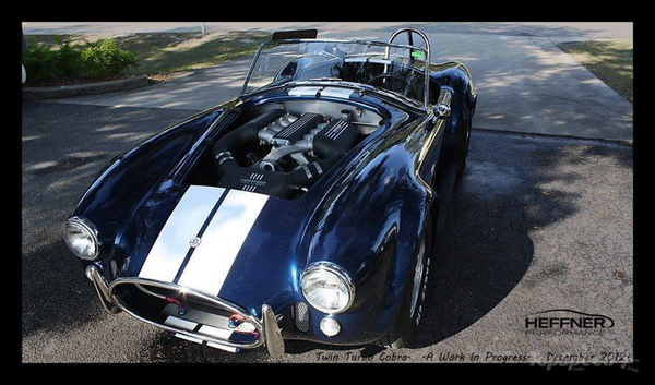 Shelby Cobra Twin Turbo от Heffner Performance