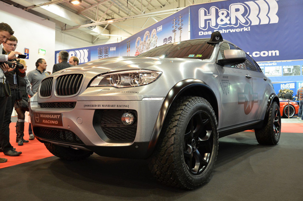Manhart Racing показал MHX6 Dirt Edition