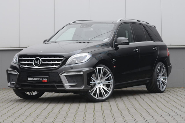 Brabus привез в Эссен Mercedes-Benz ML 63 AMG